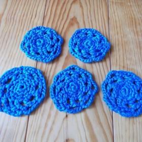 サマーエアリーのコースター (ブルー、5色)