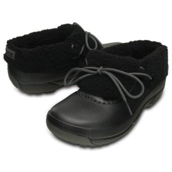 【クロックス公式】 ブリッツェン ラックス コンバーチブル クロッグ Blitzen Luxe Convertible Clog ユニセックス、メンズ、レディース、男女兼用 ブラック/黒 28cm,29cm shoe 靴 シューズ