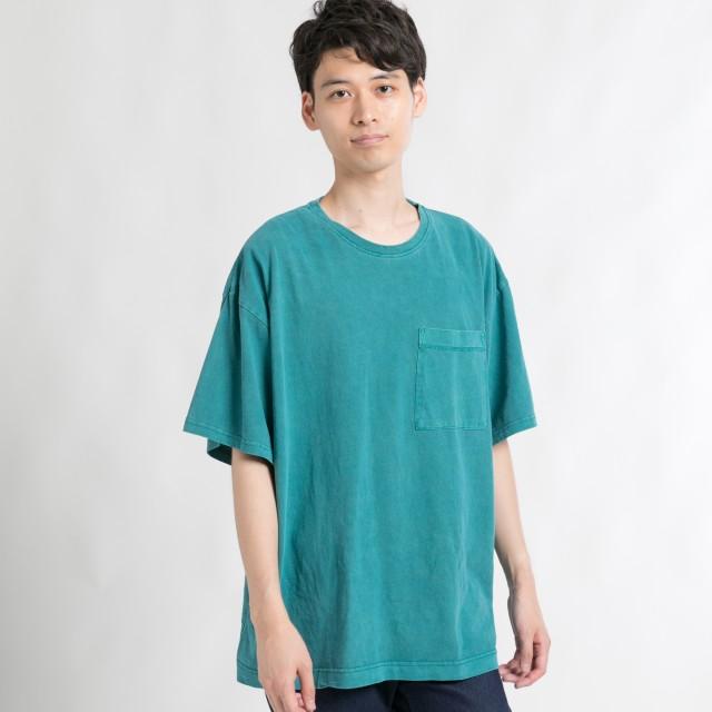 Tシャツ - WEGO【MEN】 ピグメントビッグシルエットTシャツ BV18SM05-M003