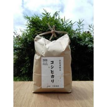 【ふるさと納税】幸田町産 コシヒカリ5kg 農薬散布なし「栄養週期栽培米」