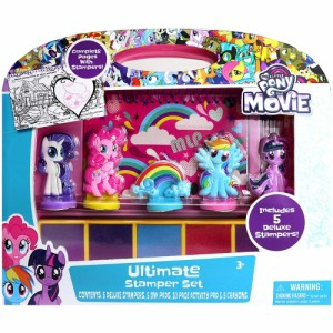 My Little Pony 35279 My Classic Rainbow Ponies-Flutterbye Collectible Multicolour