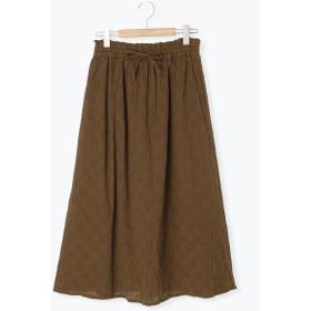 【6,000円(税込)以上のお買物で全国送料無料。】シャーリングギャザースカート