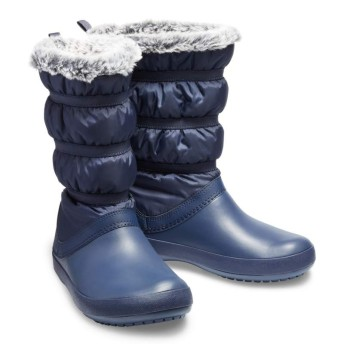 【クロックス公式】 クロックバンド ウィンター ブーツ ウィメン Women's Crocband Winter Boot ウィメンズ、レディース、女性用 ブルー/青 22cm,23cm,24cm boot ブーツ