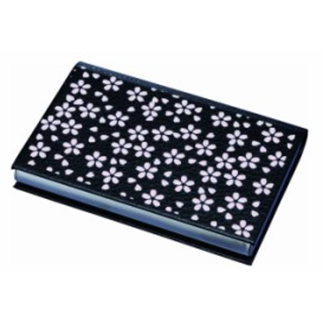 名刺ケース 和柄 名刺入れ 盛絵 さくらピンク 日本製 おしゃれ ケース 小物ケース カードケース ネームカード 紀州漆器 23-76-9A