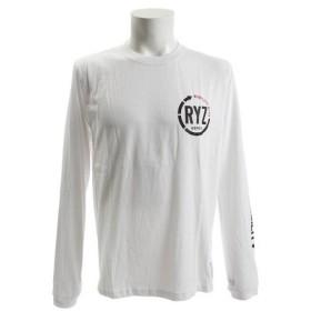 ライズ(RYZ) ARROW 長袖Tシャツ 869R8CD3310 WHT (Men's)
