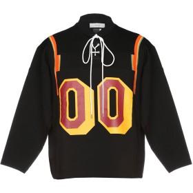 《送料無料》FACETASM メンズ スウェットシャツ ブラック 1 100% コットン