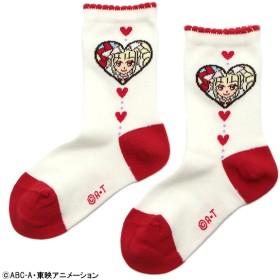 プリキュア プリキュアマシェリクルー丈 アカ 女の子 靴下 J416-574-18AW