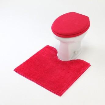 トイレマット 洗える すべりにくい シンプル おしゃれ チェリー 標準マットのみ