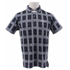 タイトリスト(TITLEIST)18SS1803グレンチェック半袖ポロシャツ TSMC1803NV (Men's)