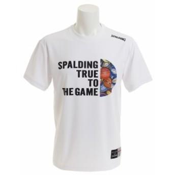 スポルディング(SPALDING)【ゼビオ限定】 TRUE MULTIBALL 半袖Tシャツ SMT180900 (Men's)