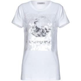 《期間限定セール開催中!》VALENTINO レディース T シャツ ホワイト XS 100% コットン ポリエステル