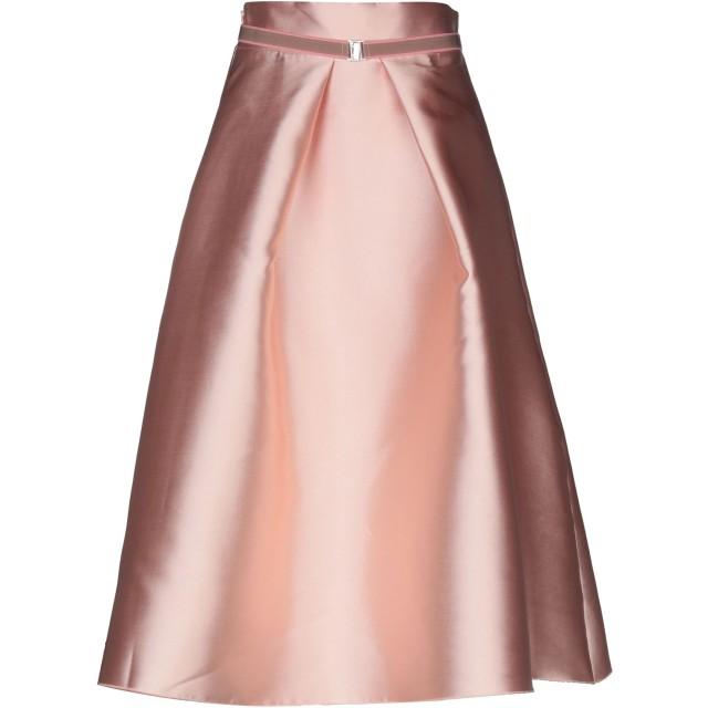 《セール開催中》MICHELA MII レディース 7分丈スカート ピンク L 100% ポリエステル