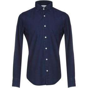 《期間限定 セール開催中》MASSIMO LA PORTA メンズ シャツ ダークブルー 40 コットン 100%