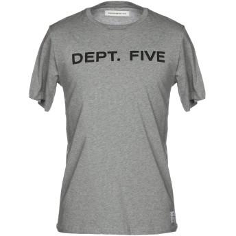 《9/20まで! 限定セール開催中》DEPARTMENT 5 メンズ T シャツ グレー S コットン 100%