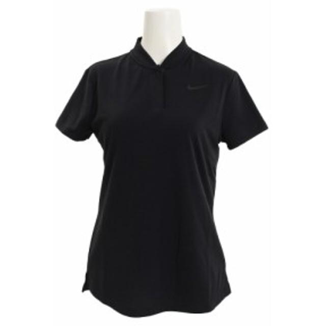 ナイキ(NIKE)エアロリアクト 半袖ポロシャツ 884831-010 半袖 (Lady's)