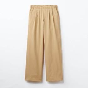 ワイドパンツ パンツ UVケア レディース 大きいサイズ 40代 30代 吸汗 速乾 おしゃれ きれいめ エレガント ベージュ S M L LL 3L