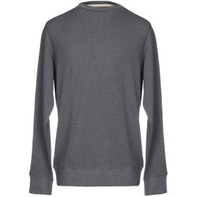 《セール開催中》DOPPIAA メンズ スウェットシャツ グレー M コットン 100%