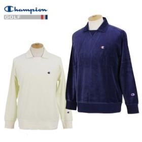 【30%OFFセール】長袖ポロシャツ メンズ チャンピオン チャンピオン ゴルフ Champion 日本正規品  ゴルフウェア