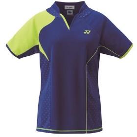 ヨネックス(YONEX) レディース テニス ゲームシャツ ミッドナイトネイビー 20443 472 テニスウェア バドミントンウェア スポーツウェア 半袖