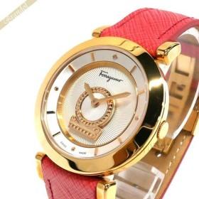 フェラガモ Ferragamo レディース腕時計 メヌエット Minuetto 37mm シルバー×ピンク FQ4240015 [在庫品]