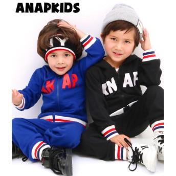 ANAP kids ラインリブパーカー