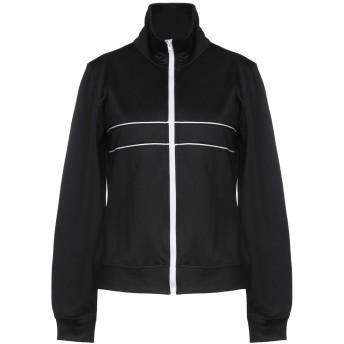 《セール開催中》DONDUP レディース スウェットシャツ ブラック S 50% コットン 50% ポリエステル