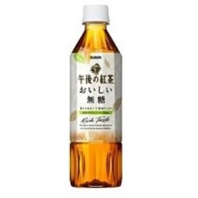 〔まとめ買い〕キリン 午後の紅茶 おいしい無糖 ペットボトル 500ml 24本入り(1ケース)