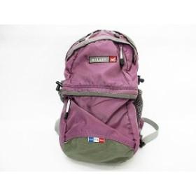 ミレー MILLET リュックサック バックパック ナイロン メッシュ 登山 アウトドア トレッキング パープル 紫 グレー 黒