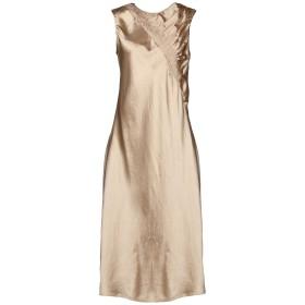 《期間限定 セール開催中》MAISON MARGIELA レディース 7分丈ワンピース・ドレス サンド 40 100% アセテート