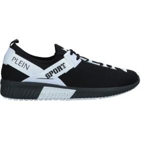 《期間限定セール開催中!》PLEIN SPORT メンズ スニーカー&テニスシューズ(ローカット) ブラック 40 紡績繊維