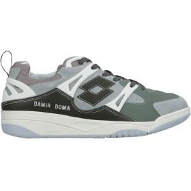 《期間限定セール開催中!》DAMIR DOMA x LOTTO メンズ スニーカー&テニスシューズ(ローカット) グレー 40 革 / 紡績繊維
