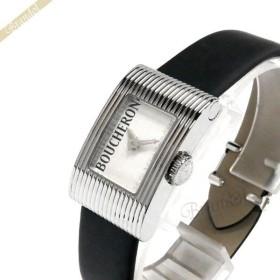 b741876ac0b8 ブシュロン BOUCHERON レディース腕時計 Reflet リフレ スモール ホワイト×ブラック WA009501 [在庫品]