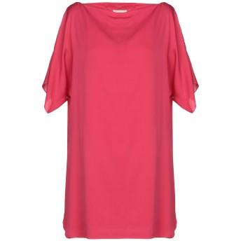 《期間限定セール開催中!》MILLY レディース ミニワンピース&ドレス フューシャ S シルク 92% / ポリウレタン 8%
