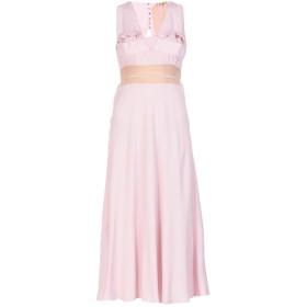《送料無料》N°21 レディース 7分丈ワンピース・ドレス ライトピンク 40 アセテート 69% / シルク 31%