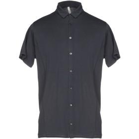 《セール開催中》BELLWOOD メンズ シャツ ブルー 46 コットン 100%