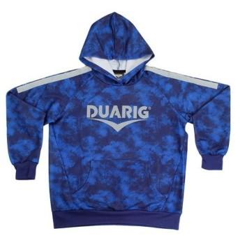 デュアリグ(DUARIG) ジュニア UVライト スウェットプルオーバー 862D8CD2656 BLU (Jr)