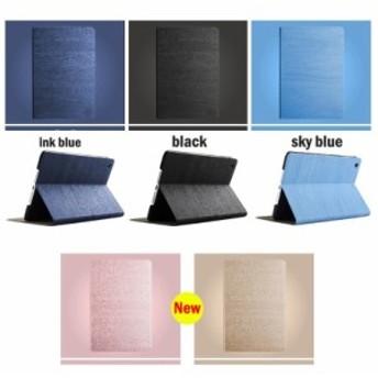 木地風 iPad mini 4用手帳型レザーケース/保護スタンドカバー//上質/横開き/軽量/薄型/自動スリープカバー/シンプルデザイン【G361】