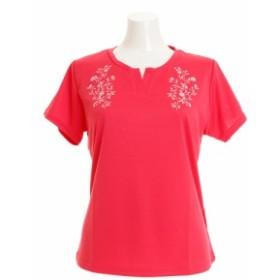 HUITIEME ドライプラス GraphicTシャツ HU18FLS733153PNK (Lady's)