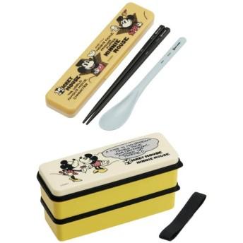 お弁当箱 お弁当用袋 ディズニー シリコンシール蓋2段ランチボックス&コンビセット