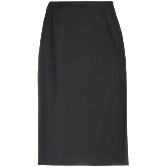《セール開催中》VALENTINO レディース ひざ丈スカート ブラック 38 バージンウール 98% / ポリウレタン 2%