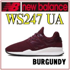 【レディースシューズ】【New Balance】 WS247 UA BURGUNDY【470】