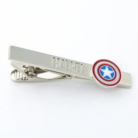 小物 メンズ マーベル ネクタイピン カラー 「キャプテン・アメリカ(シールド)」