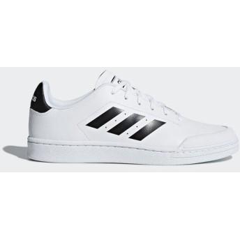 (セール)adidas(アディダス)シューズ カジュアル COURT70SU BSZ02 B79774 メンズ ランニングホワイト/コアブラック/ランニングホワイト