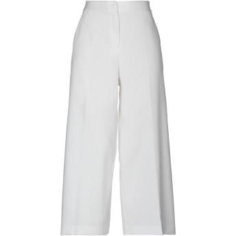 《セール開催中》BOUTIQUE MOSCHINO レディース パンツ ホワイト 36 コットン 98% / 指定外繊維 2%
