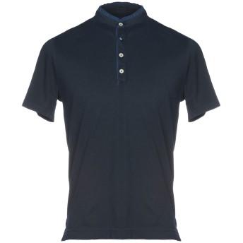 《期間限定セール開催中!》HERITAGE メンズ ポロシャツ ダークブルー 50 コットン 95% / ポリウレタン 5%