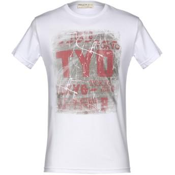 《期間限定セール開催中!》ATHLETIC VINTAGE メンズ T シャツ ホワイト S コットン 100%