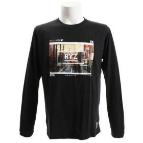 ライズ(RYZ) PHOTO 18 長袖Tシャツ 869R8CD3313 BLK (Men's)