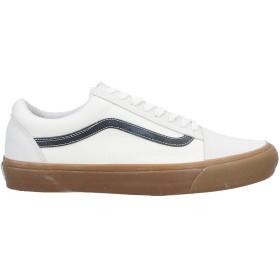 《セール開催中》VANS メンズ スニーカー&テニスシューズ(ローカット) アイボリー 11 紡績繊維 / 革