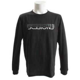 SESSIONS 50/50 長袖Tシャツ 187025 BLK (Men's)