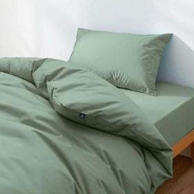 20色から選べる綿100%の日本製枕カバー 「サックス」